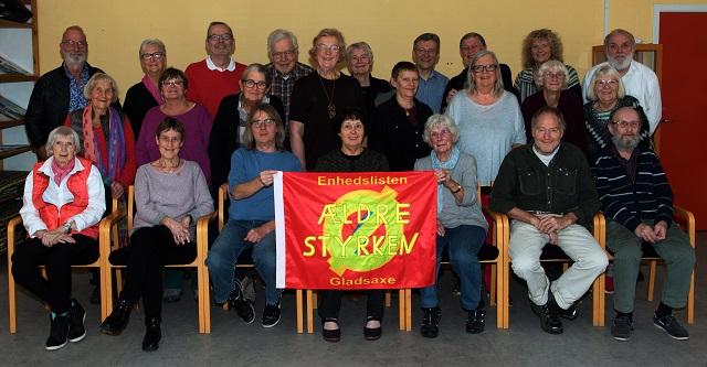 Deltagere i Ældrestyrkens møde torsdag den 27. oktober 2016 i Seniorklubberne Høje Gladsaxe. Foto: Carl Christian Lauridsen.