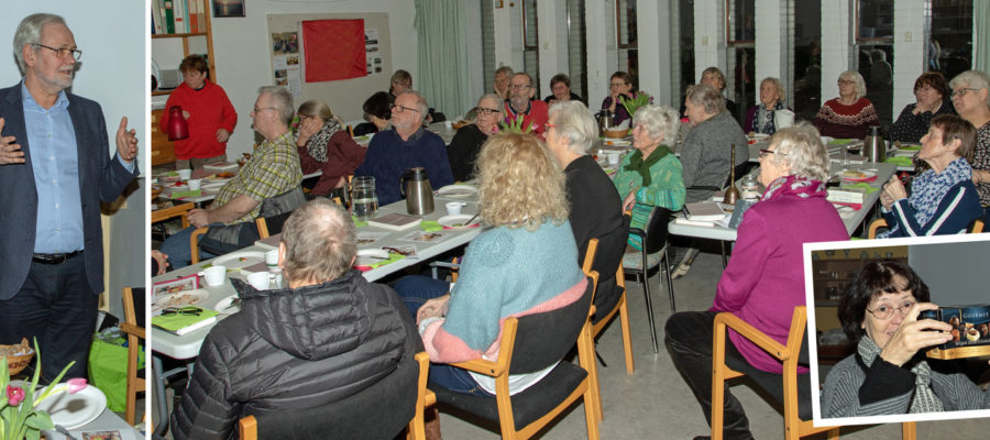 Dennis Kristensen talte ved Æeldrestyrkens arrangement i januar 2019