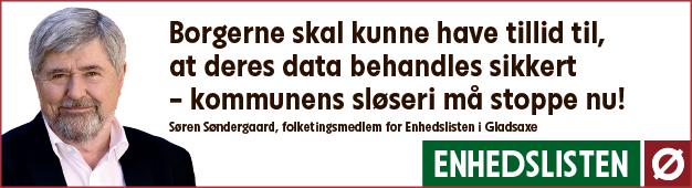 Søren Søndergaard - Datasikkerhed i Gladsaxe