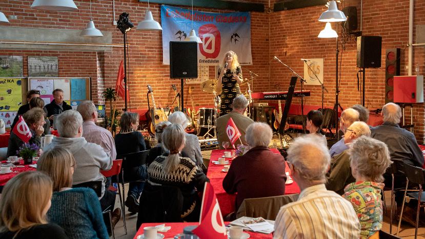 Sanne Søndergaard ved 30-årsfesten 2-3-2019