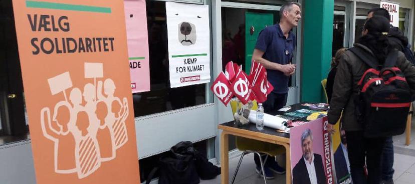 Ø-valgkamp i Gladsaxe maj 2019