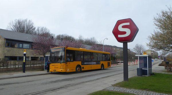 Bus 68 ved Kildebakke Station