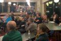 Publikum ved møde om cirkulær økonomi november 2019