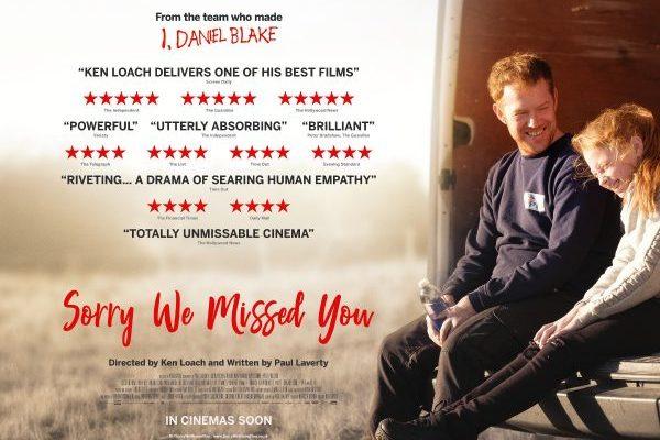 "Plakat for filmen ""Sorry We Missed You"""