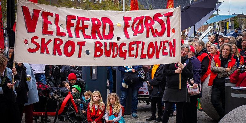 Skrot Budgetloven-demonstration