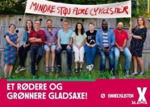 Valgbrochure - Et rødere og grønnere Gladsaxe!