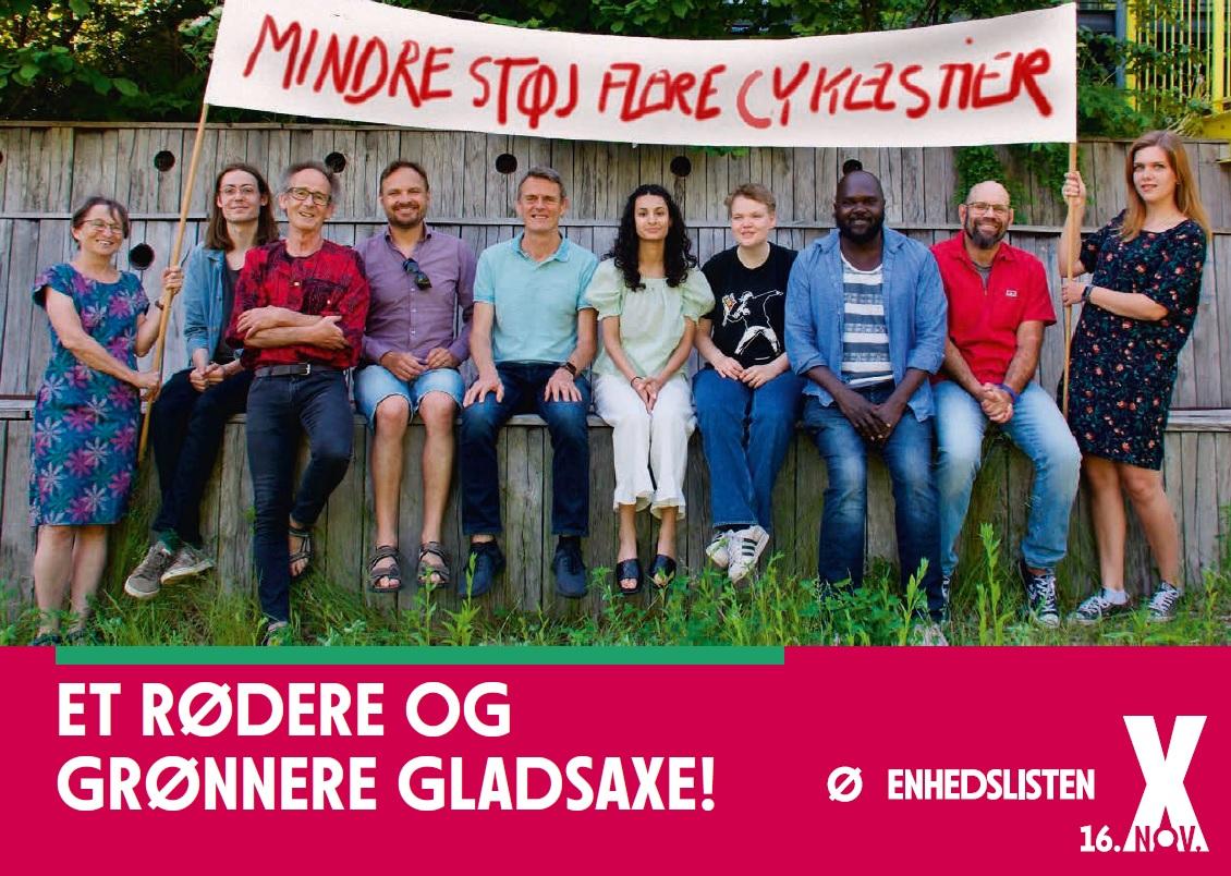 Valgbrochuren - Et rødere og grønnere Gladsaxe!